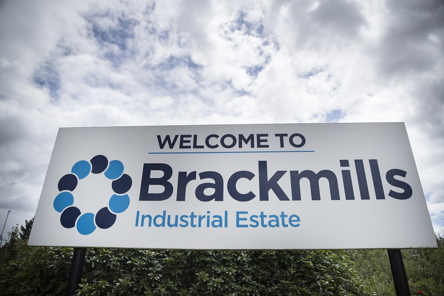 Brackmills Industrial Estate Sign